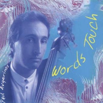 Paul Avgerinos - Words Touch [CD] USA import