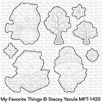 My Favorite Things Warm & Feathered Hugs Clear Stamps