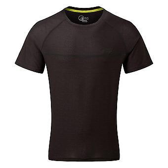 North Ridge Men's Energy Active Short Sleeve Top Schwarz