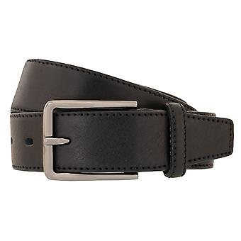 Cinturones cuero completo cuero correa negro de correas cinturones hombres LLOYD 118