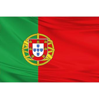 Pack van 3 Portugal Flag Bandera 3ft x 5ft Polyester Fabric Voetballand