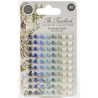 Craft Consortium The Riverbank Adhesive Emaille Dots