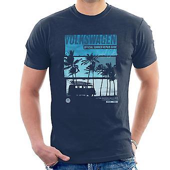 Volkswagen Official Summer Repair Guide Design Men's T-Shirt