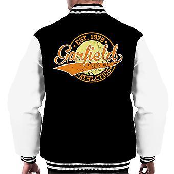 Garfield friidrott logo etablerad 1978 män ' s Varsity jacka