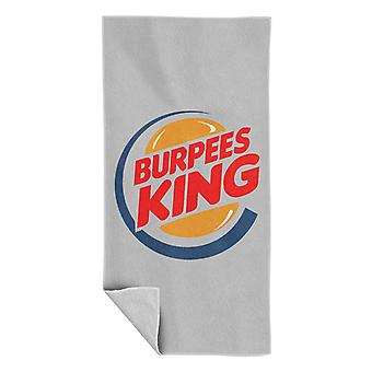 Burpees King Burger King Beach Towel