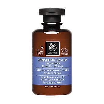 Sensitive Scalp Shampoo With Lavender and Honey 250 ml
