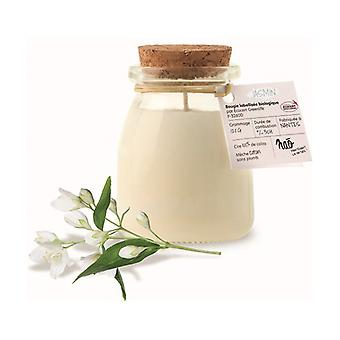 Natural jasmine scented candle small model 30 h 120 g