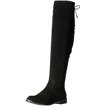 Xoxo Womens Trish Fabric Closed Toe Mid-Calf Fashion Boots