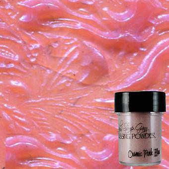 Lindy's Stamp Gang Cosmic Pink Blue Embossing Powder