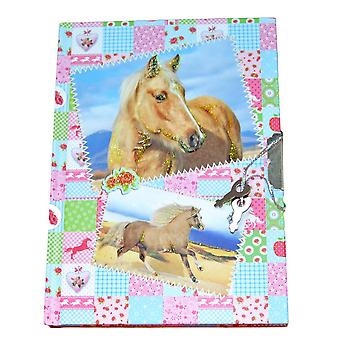 Diary with Horse and Lock