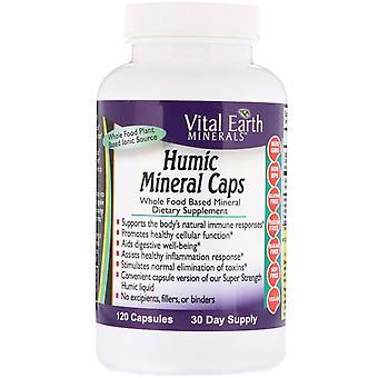 Vital Earth Minerals, Humic Mineral Caps, 120 Capsules