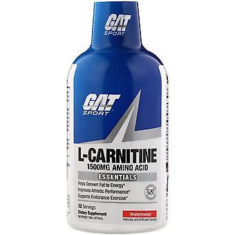 GAT, L-Carnitine, Aminozuur, Watermeloen, 1.500 mg, 16 oz (473 ml)