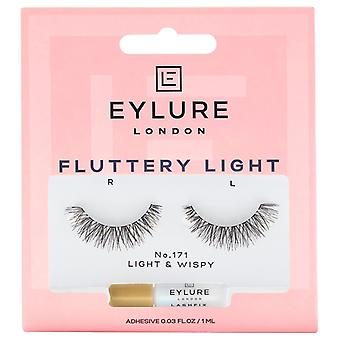 Eylure Fluttery Light Premium Valse Wimpers - 171 - Lash Lijm inbegrepen