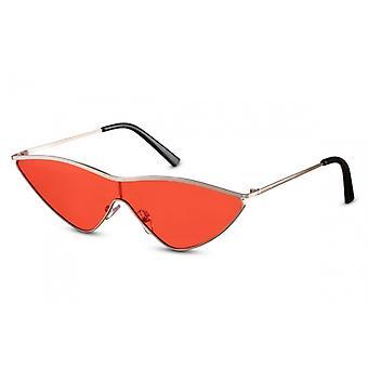 نظارات شمسية فراشة المرأة Cat.2 الذهب / الأحمر (CWI2165)