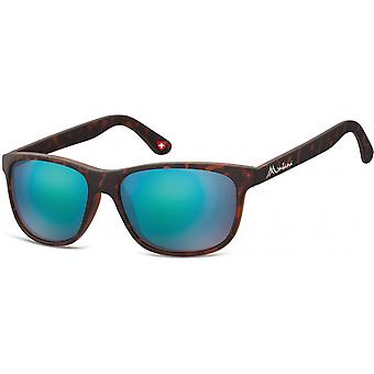 Sunglasses Unisex by SGB brown/blue (turtle) (MS48)