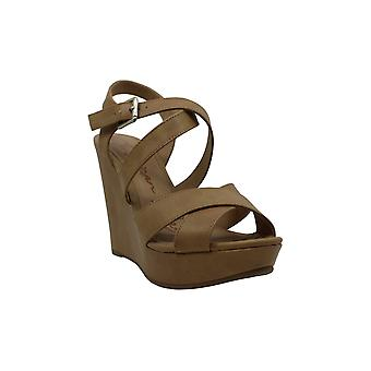American Rag Womens Rachey1 Fabric Open Toe Casual Platform Sandals