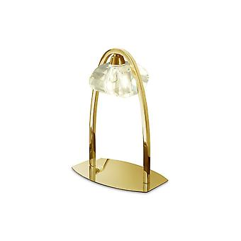 Inspired Mantra - Alfa - Table Lamp 1 Light G9, French Gold