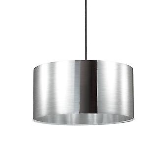1 Light Round Ceiling Pendant Aluminium
