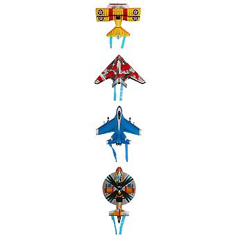 Mini Flying Kite Cartoon Animal Plane Finger Giocattoli per bambini