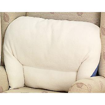 Chums 2 Back Rest Cushions Fleece Lumbar Support Cushion
