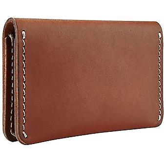 Red Wing Card Holder Wallet Unisex Wallet in Red Mahogany