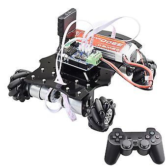 4wd Mecanum Wheel Robot Car Chassis Kit Directional Platform With 4pcs 12v Speed Encoder Motor For Arduino