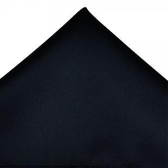 Ties Planet Plain Navy Blue Pocket Square Handchief