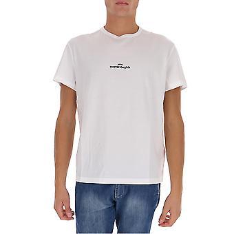 Maison Margiela S30gc0701s22816100 Men''s White Cotton T-shirt