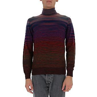 Missoni Mun00143bk00m0s503o Men's Multicolor Wool Sweater