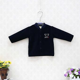 Baby Shirts For 0-18 Months And, Velour Button Clothes For Newborn