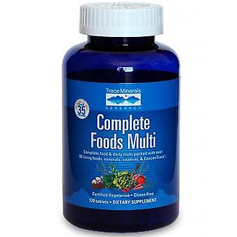 Trace Minerals Complete Foods Multi, 120 Tabs