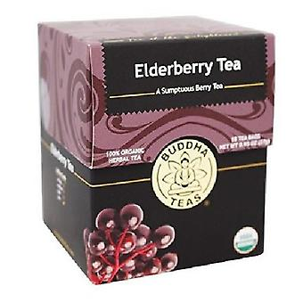 Buddha Teas Organic Elderberry Tea, 18 Bags