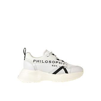 Philosophy By Lorenzo Serafini Ezgl205046 Women's White Leather Sneakers
