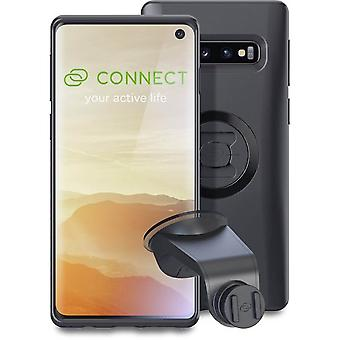 sp connect black  samsung galaxy s10 case and suction mount