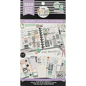 Gelukkig planner sticker Value Pack-Wellness, 1010/pkg