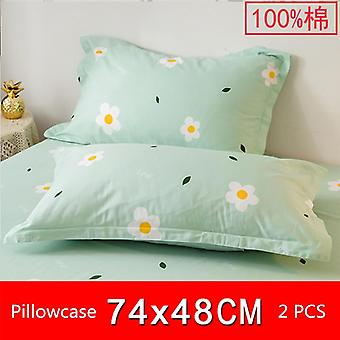 Universal Cotton Dust Proof Pillow Protection Cover - Lovely Baby Pillowcase