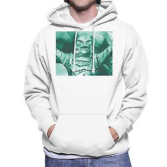 The Creature From The Black Lagoon Cave Scene Men's Hooded Sweatshirt