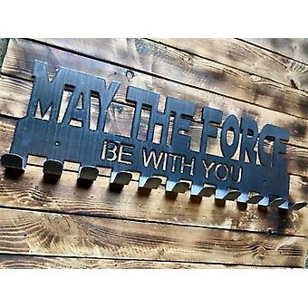"""""""may The Force Be With You"""" Medal Hanger"""
