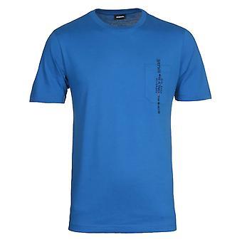 Diesel T-Just Pocket Maglietta Blue T-Shirt