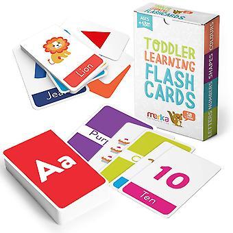 Merka koulutus flash kortit lapset 58 flashcards taaperot asettaa kirjaimet värit muotoja numeroita