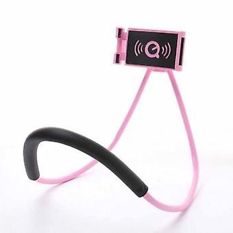 怠惰なハンギングネック電話スタンドネックレス携帯電話サポートブラケット