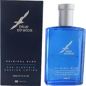 Blue Stratos Pre Electric Shaving Lotion 100ml for Men