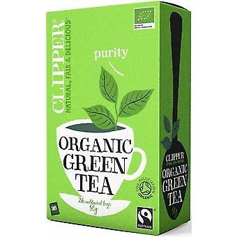 Clipper Organic & Fairtrade Thé Vert (50g) 26's x6