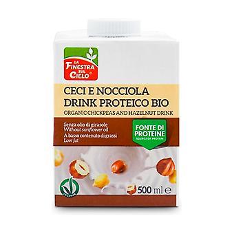 Kichererbsenprotein-Getränk mit Haselnuss None