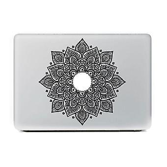 Retro Laptop Sticker, Feather Art Pattern Laptop Sticker For Macbook Air Laptop