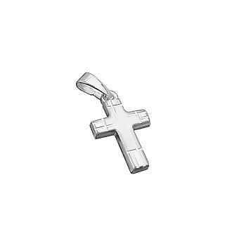 anheng cross diamant kuttet sølv 925