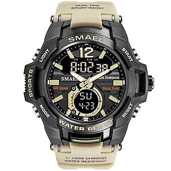 Men Sport Watch, Waterproof Digital Military Army Wristwatch