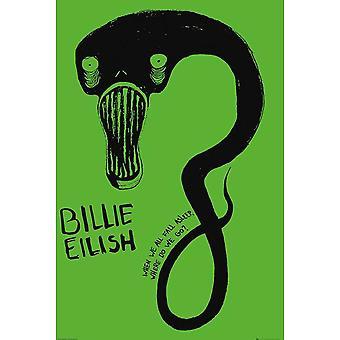 Billie Eilish Ghoul Poster