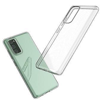 Coque Pour Samsung Galaxy S20 Fe, Housse De Protection En Silicone De Haute Qualité, Transparent