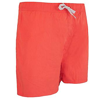 "Animal Swimming Trunks 16"" Stretch Waist Coral Shorts Mens CL5SG157 S02"